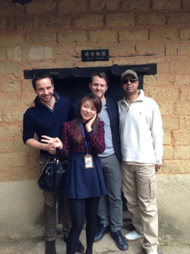 Outside Chairman Mao's school room